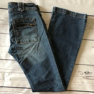 🌺5/$20🌺 AMERICAN EAGLE zip pocket boot cut JEANS